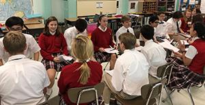 Eighth Grade Debate in ELA